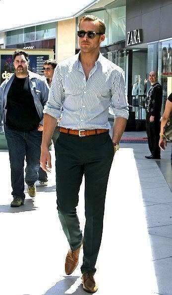 ryan gos chemise rayé